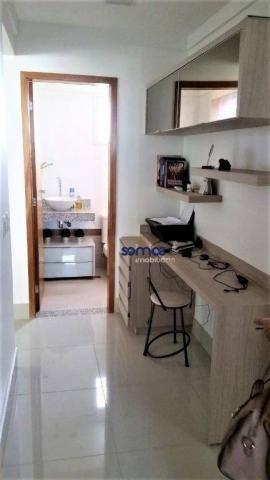 Apartamento com 3 dormitórios à venda, 122 m² por r$ 729.000 - setor bueno - goiânia/go - Foto 5