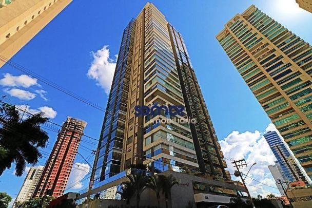 Apartamento duplex com 4 dormitórios à venda, 288 m² por r$ 2.080.000,00 - setor bueno - g