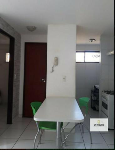 Quarto e Sala na Jatiúca por 199 mil, nascente, com moveis fixos. Prox. ao Filé Do Zeze. - Foto 6