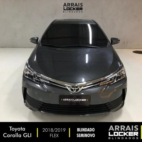 Toyota corolla 2018/2019 1.8 gli upper 16v flex BLINDADO