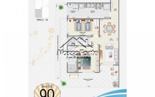 Lançamento Apartamento na Aviação em Praia Grande - Foto 7