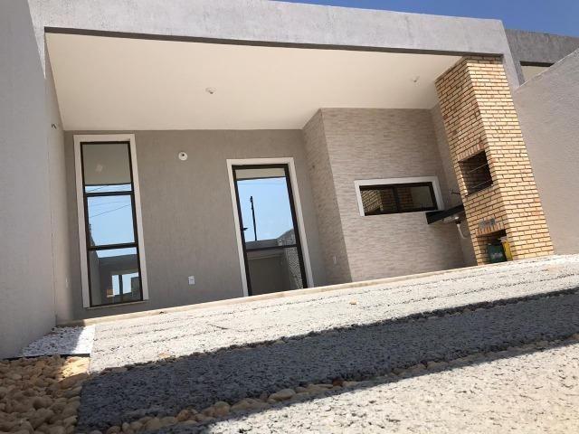Casa Plana no Eusébio, 3 quartos, suítes, churrasqueira, excelente localização! - Foto 11