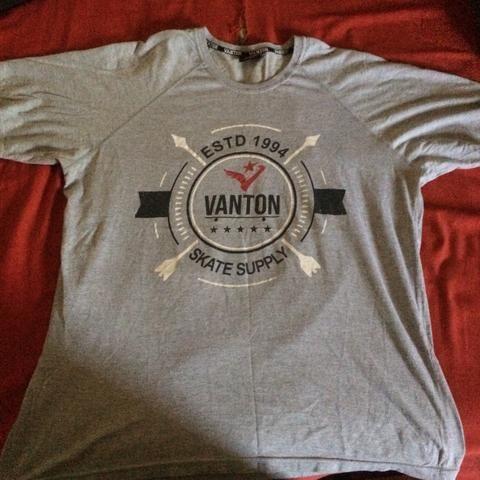Camisa Vanton skateboard