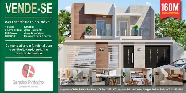 Duplex em construção - Cidade Nova - Fino acabamento