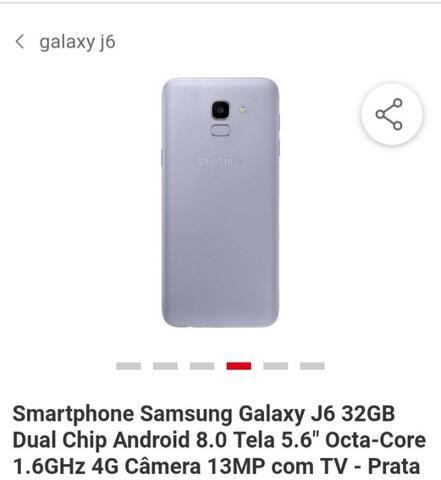 3aad8bce0 Troco ou Vendo Samsung J6 - Celulares e telefonia - São José De ...