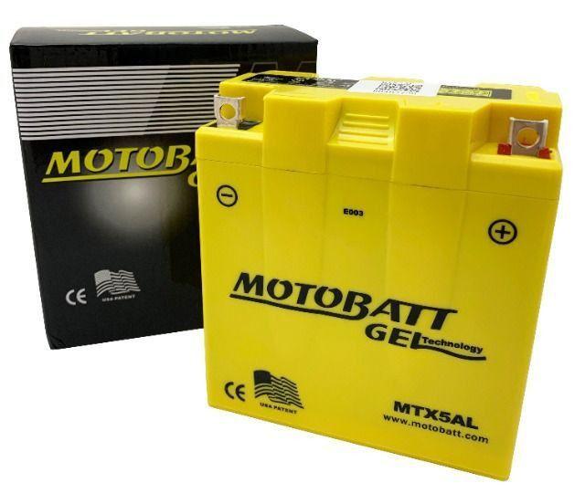 Bateria Gel Motobatt Mtx5al Yb5l-b Yamaha XTZ 125 YBR 125 RD 125 RDZ 135 Crypton T115 - Foto 4