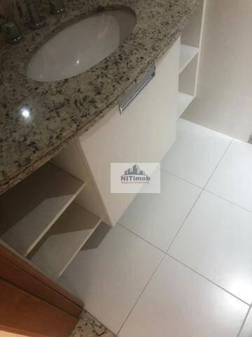 Excelente Apartamento na Mariz e Barros 272 em Icaraí no Condomínio Calle Veronna, com arm - Foto 4