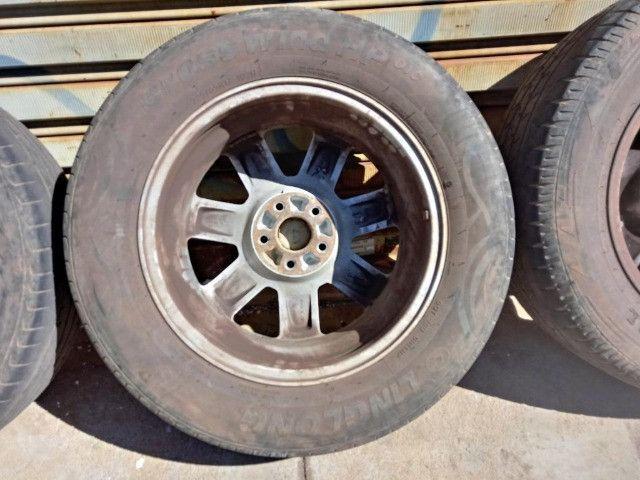 Jogo Roda Pneu Aro 17 Honda Crv 2011 - Foto 17