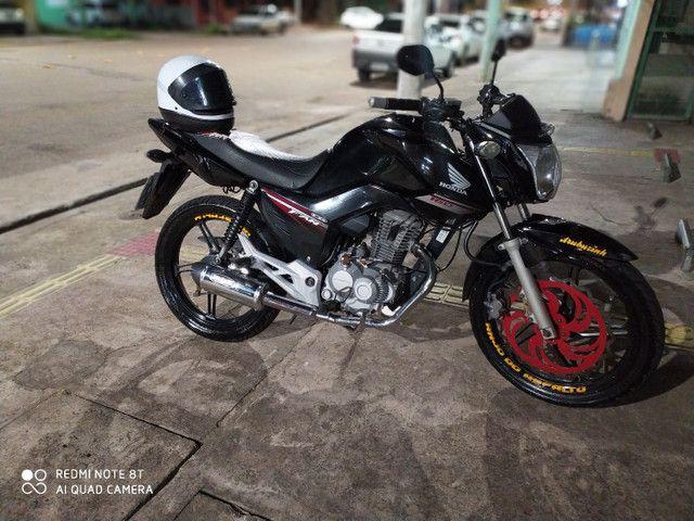 Honda Fan 160 Toda bonitinha  - Foto 2