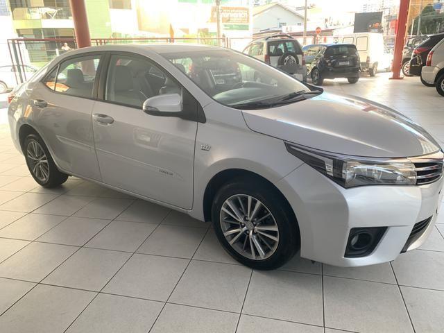 Toyota corolla xei 2.0 flex aut. 2015 prata - Foto 3