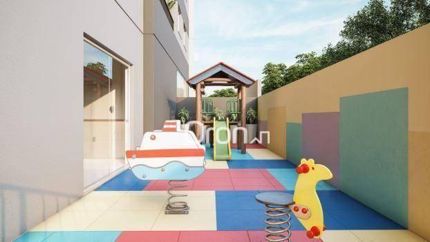 Apartamento com 3 dormitórios à venda, 87 m² por R$ 405.000,00 - Setor Pedro Ludovico - Go - Foto 13
