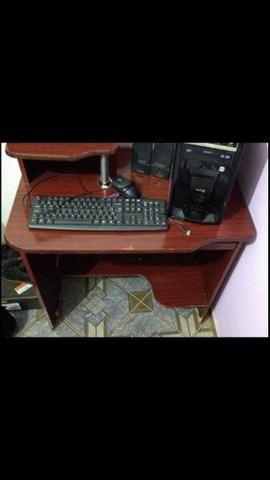 Computador de mesa + mesa - Foto 4