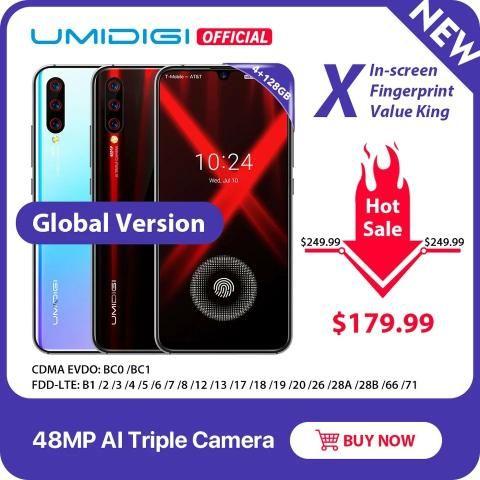 Umidigi X versão global