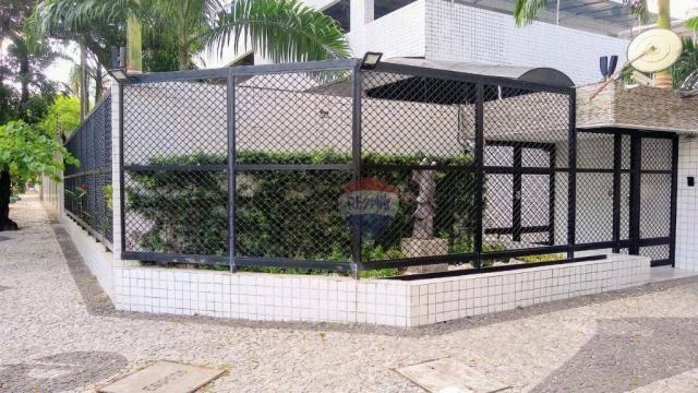 Flat com 1 dormitório para alugar, 38 m² - Poço - Recife/PE