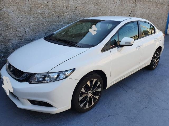 Honda Civic 2015 LXR Flex Branco - Completo
