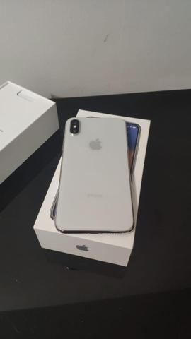 Iphone x 64 gb c/ garantia - impecável - Foto 3