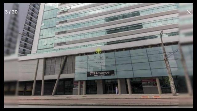 Sala comercial nova no magnífico complexo Seven 7th
