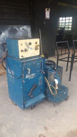 Máquina de solda NT2000 AC DC. - Foto 3