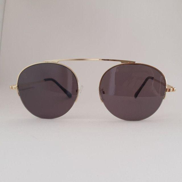 Óculos de Sol dourado com Proteção