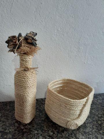 Cachepot artesanal  - Foto 3