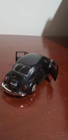 Miniatura de carro ( fusca preto fosco ) - Foto 3