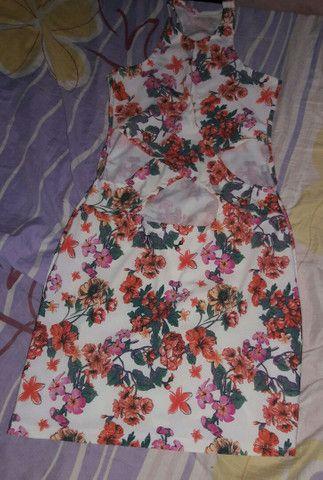 Vestido tamanho único floral