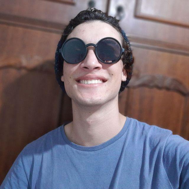 Óculos de Sol Redondo Novo - Foto 2