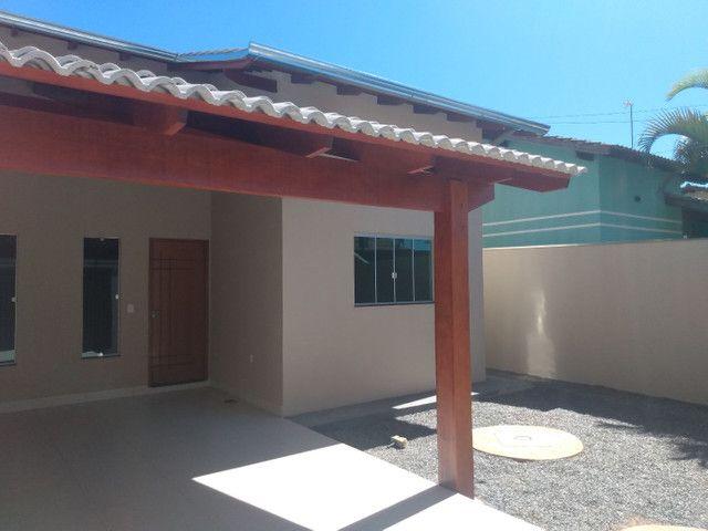 Casa aldeia dos sonhos com pé direito duplo, porcelanato e churrasqueira... Anápolis - Foto 4