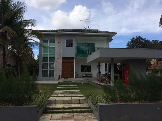 Casa em Cond. em Aldeia 5 Quartos 300 m² Piscina e Esp. Gourmet