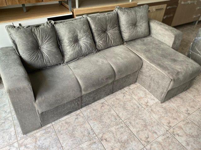 Sofá com Chaise - Foto 4