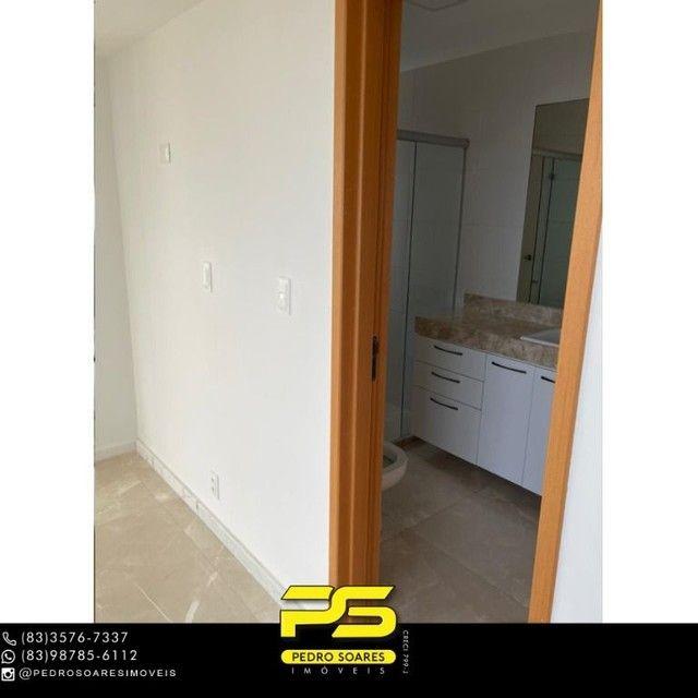 Apartamento com 3 dormitórios para alugar, 190 m² por R$ 6.200/mês - Altiplano Cabo Branco - Foto 11