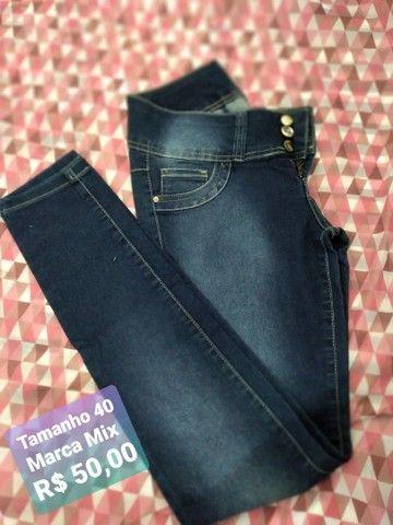 Calças jeans marca mix Promoção