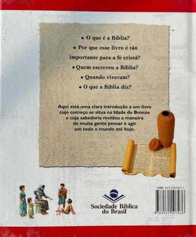 Livro Bíblia ilustrada - Foto 2