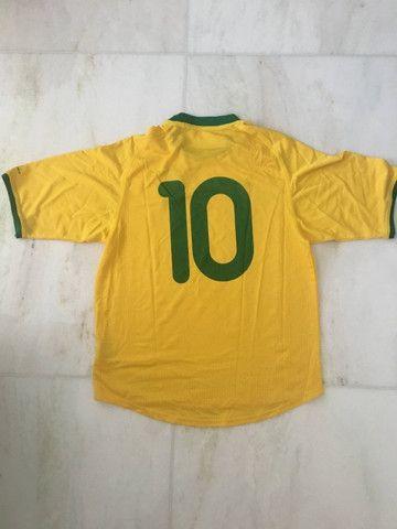 Camisa Brasil 2000 Oficial - Foto 2