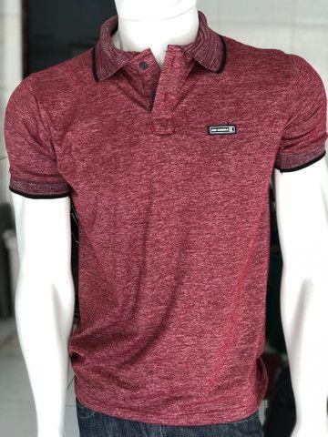 Camisas Gola Polo - R$ 20,00 - Foto 5