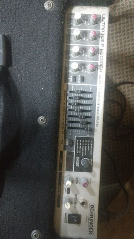 Estúdio de ensaio completo bateria amplificador cx ativa microfone    - Foto 2