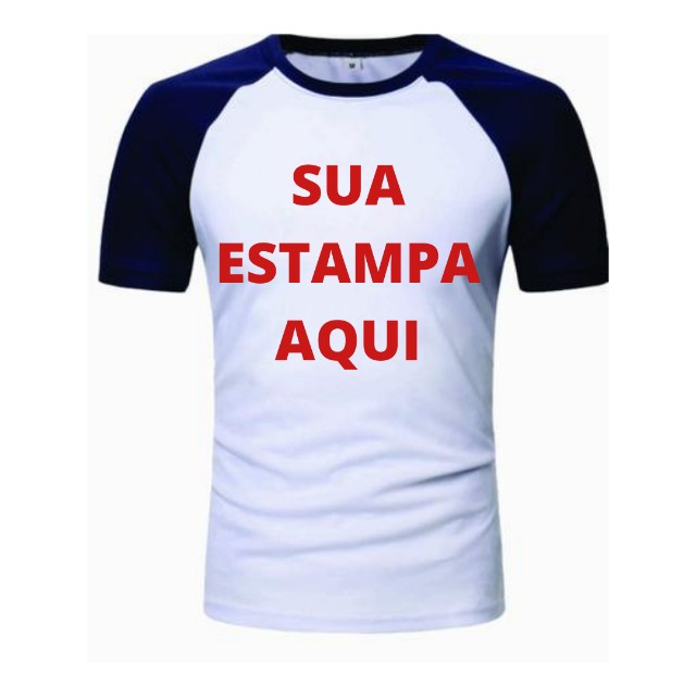 Camisas personalizada Raglan
