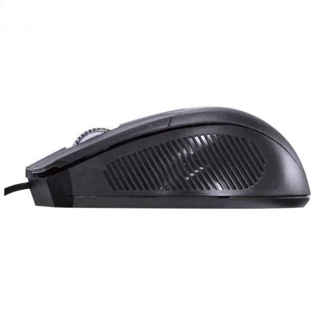 mouse optico ps2 corp 1200 dpi preto cabo 1.8m - cm200 - Foto 5