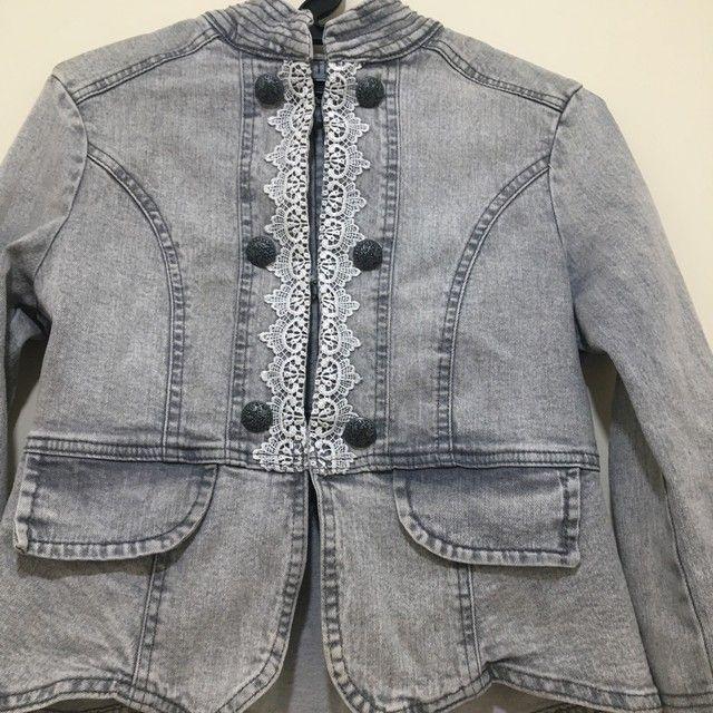 Jaqueta jeans feminina  - Foto 3