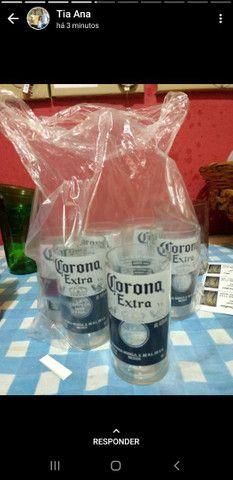 Copos de cerveja artesanal  e paliteiro - corona, beats e heineken - Foto 6