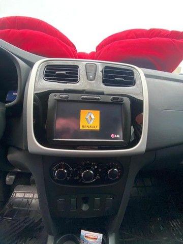 Renault Sandero Expression 1.0 - Branco - 2015 - Foto 11