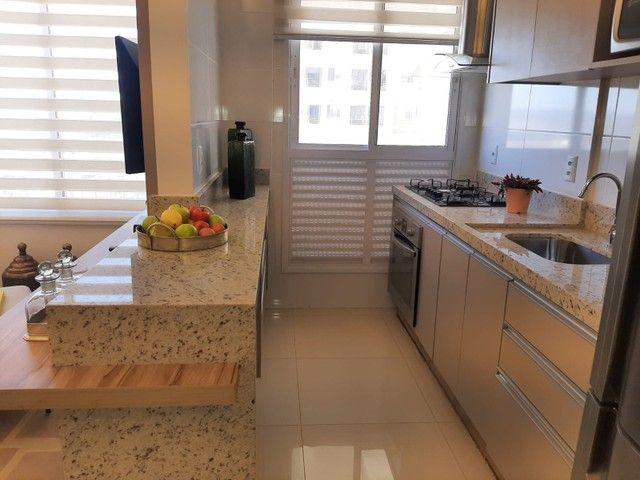 Apartamento com 64 m² sendo 2 quartos no Jardim Europa - Go - Foto 10