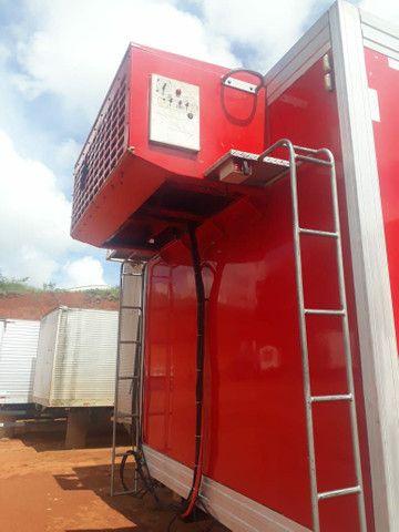 Baú frigorífico 7.50m motor a diesel - Foto 6