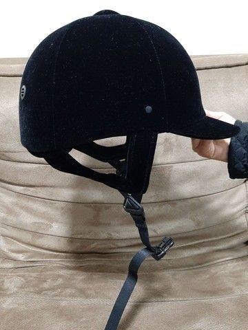 Colete e capacete de hipismo - Foto 2