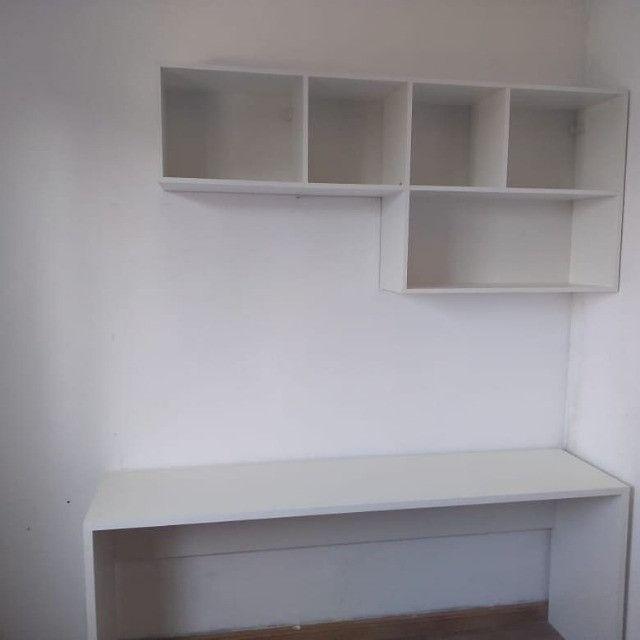 Nicho / estante/ para livros/ decoração novo MDF - Foto 2