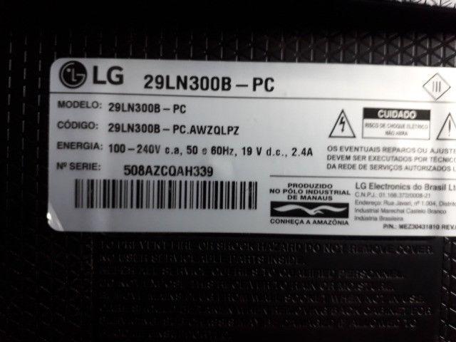 ´tv e monitor LG 29 polegadas - Foto 4