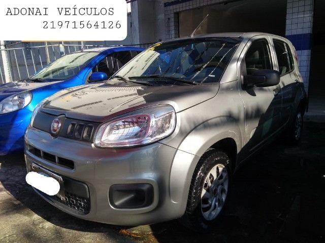 Fiat/uno 2016/2015 completa entrada de 5500 e parcelas de 599 - Foto 2