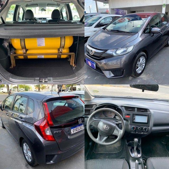 Honda Fit com KIT GÁS 2015 Completo Otima Oportunidade