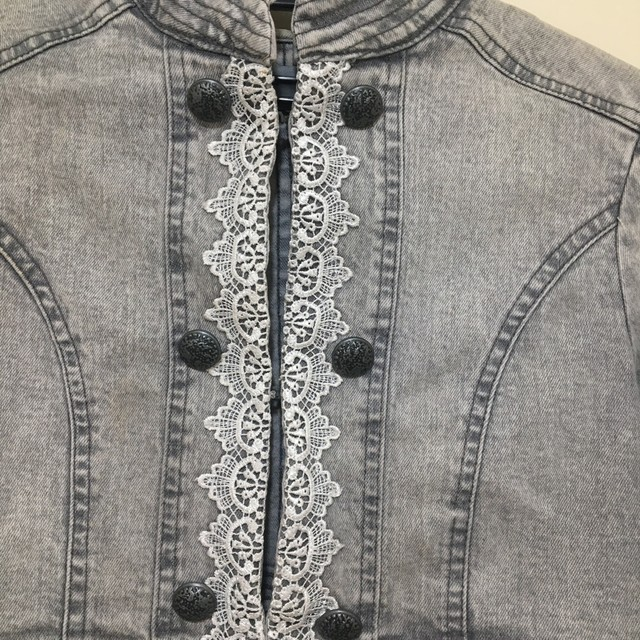 Jaqueta jeans feminina  - Foto 2