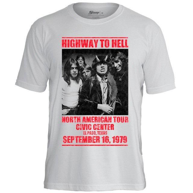 Camisas de bandas de rock - Slayer, AC/DC, Ramones e muito mais - Foto 3
